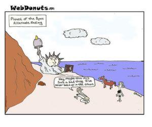 כוכב הקופים (מקור: webdonuts, 2007)