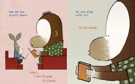מתוך ספרה של לין סמית' It's A Book