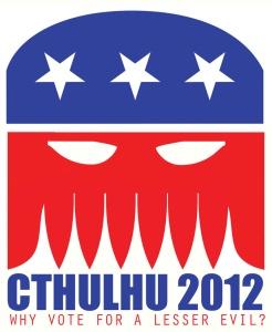 אל תהיו פראיירים, הצביעו לקת'ולהו (מקור: freepublic.com)