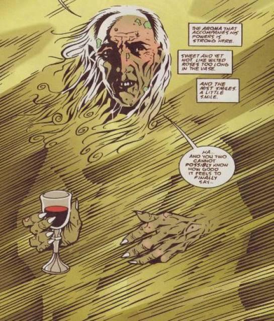 וגם הוא קיים. דמות הקומיקס Mist