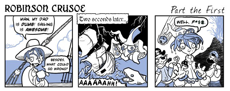 מקור: deviantart. כתובת: http://www.deviantart.com/art/Robinson-Crusoe-Part-1-170941210