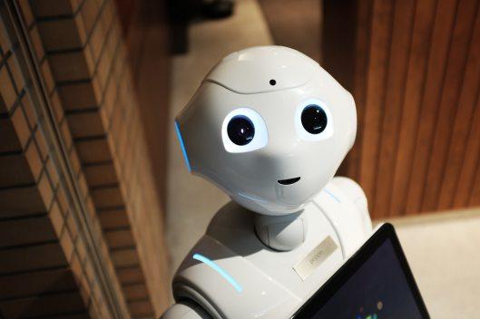 smiley robot